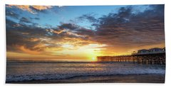 A Crystal Sunset Beach Towel