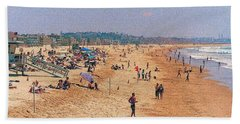 Beach Sheet featuring the photograph A Day At Venice Beach 2 by Nadalyn Larsen