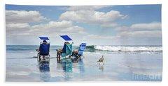 A Day At The Beach Beach Towel
