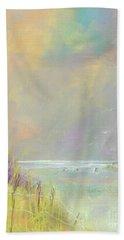 A Day At The Beach Beach Sheet by Frances Marino