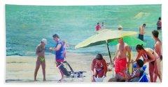 A Day At The Beach Beach Sheet
