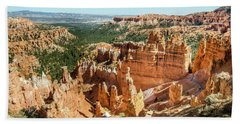 A Day In Bryce Canyon Beach Towel