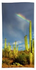Beach Towel featuring the photograph A Divine Touch by Rick Furmanek