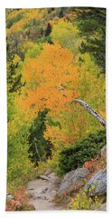 Beach Towel featuring the photograph Yellow Drop by David Chandler
