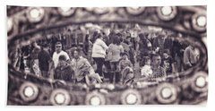 Beach Towel featuring the photograph A Fair Day by Caitlyn  Grasso