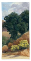 A Fall Day At Whitney Canyon Beach Towel
