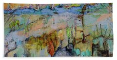A Fine Day For Sailing Beach Towel by Sharon Furner