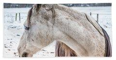 A Girlfriend Of The Horse Amigo Beach Towel