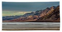 A Glow On The Amargosa Range Beach Towel