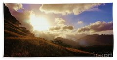 Beach Towel featuring the photograph A Good Morning by Craig Wood