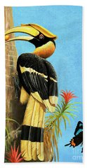 A Hornbill Beach Towel