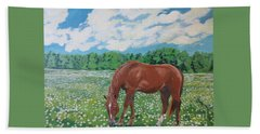 A Horse Named Dante Beach Sheet