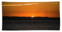 A La Paz Sunset Beach Towel
