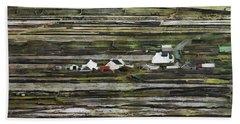 A Landscape With A Farm Beach Towel