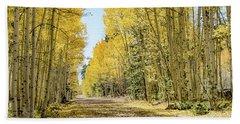 A Lane Of Gold Beach Sheet