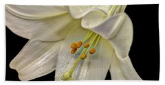 A Lily For Easter Beach Towel