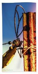 A Little Rusty Beach Sheet by Stefanie Silva
