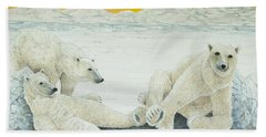 A Long Days Night Beach Towel
