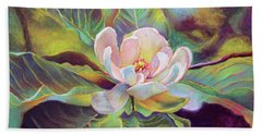 A Magnolia For Maggie Beach Towel