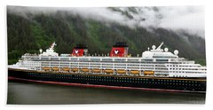 A Mickey Mouse Cruise Ship Beach Sheet