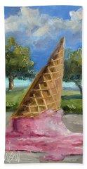 A Mid Summer Tragedy Beach Sheet by Billie Colson