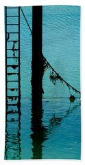 Beach Towel featuring the photograph A Modicum Of Maritime Minimalism by Chris Lord