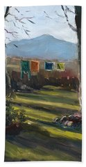 A Moment In Time Beach Towel