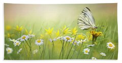 Light Wings Beach Towel