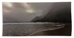 A Muted Afternoon Beach Towel by Rick Furmanek