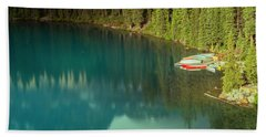 A New Day At Moraine Lake Beach Towel