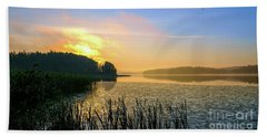 A New Day Is Dawning Beach Towel