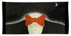 A Night Out With The Stars Beach Towel by Thomas Blood