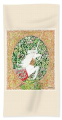 A Pawn Escapes Limited Edition Beach Towel by Lise Winne