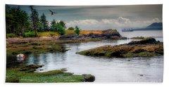 A Peaceful Bay Beach Sheet