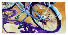 A Pedego Cruiser Bike Beach Sheet