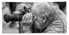 A Photographers Photographer Beach Sheet