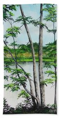 A Place Of Refuge Beach Towel