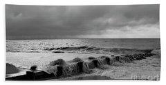 A Platinum Sea Beach Towel by Skip Willits