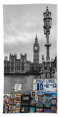 A Postcard From London Beach Towel