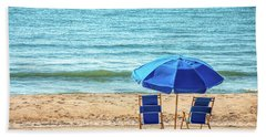 A Quiet Place In Spring Lake Beach Towel