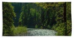 A River Runs Through It Beach Sheet
