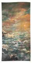 A Sea Of Clouds Beach Sheet