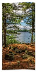 A Secluded Spot Beach Towel