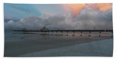 Beach Towel featuring the photograph A Serene Morning by Kim Hojnacki
