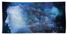 A Soul In The Sky Beach Towel by Gun Legler