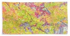 A Splash Of Color Beach Sheet