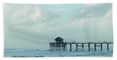 A Storm's Brewing Beach Towel