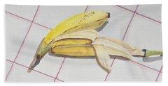 A Study On Bananas Beach Towel