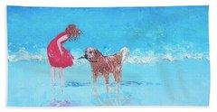 A Summer Breeze Beach Towel by Jan Matson