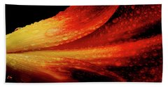 A Summer Time Lily Beach Towel by Mike Eingle